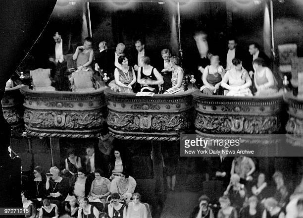 The night before the Black Tuesday stock market crash on October 29 the dowager Mrs Cornelieus Vanderbilt and guests sit in the famous Diamond...