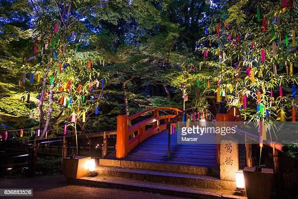The night illuminations of Star festival