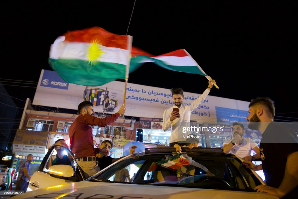 Iraqi Kurdistan Independence Referendum : News Photo