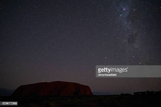 The Night Sky Over Uluru