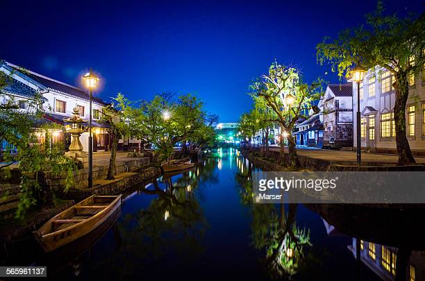 The night view of Kurashiki