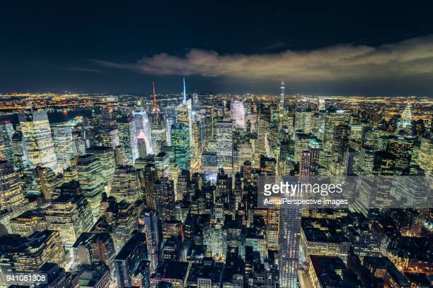 The Night View of Manhattan
