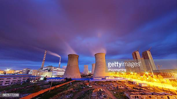 The night view of Power Plant