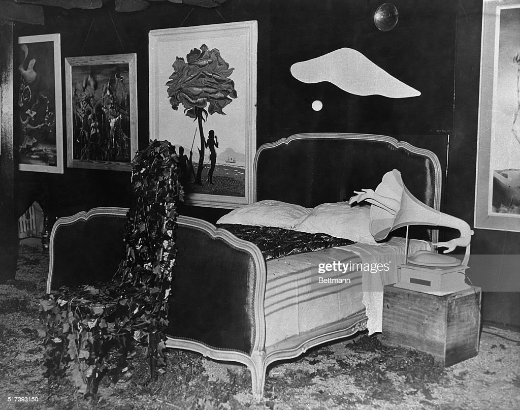 View of The Nightmare Room by Salvador Dali Pictures   Getty Images