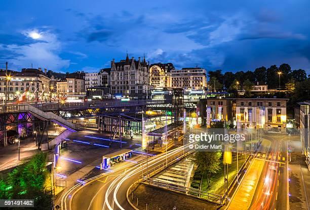 The nights of Lausanne, Switzerland