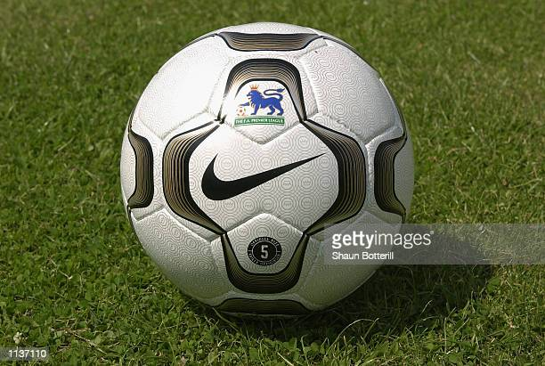 The Nike Geo Merlin Vapor which is the Official ball of the FA Barclaycard Premiership