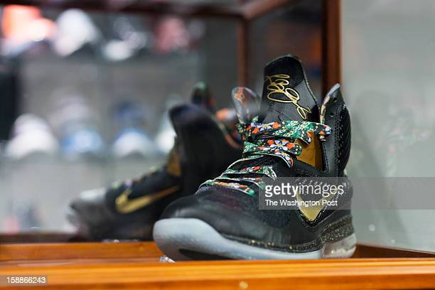 The Nike LeBron 9 Watch the Throne is the name of this pair of shoes inspired by the music tour of Jay Z and Kanye West with the added signature of...