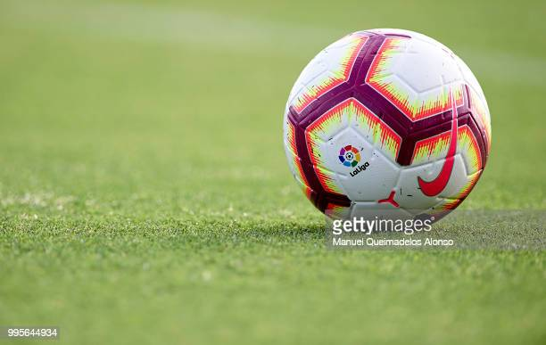 The Nike Merlin ball during training session at Paterna Training Centre on July 10 2018 in Valencia Spain