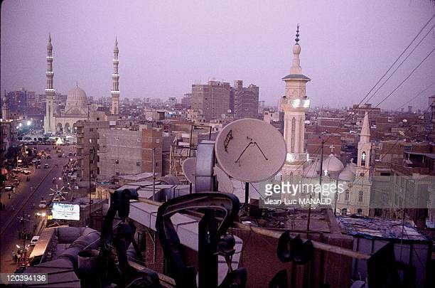 The Nile delta in Tanta Egypt Tanta AlBadawi mosque