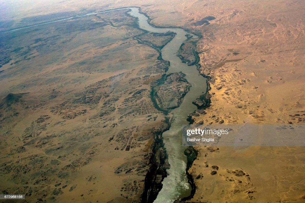 The Nile River : Stock Photo