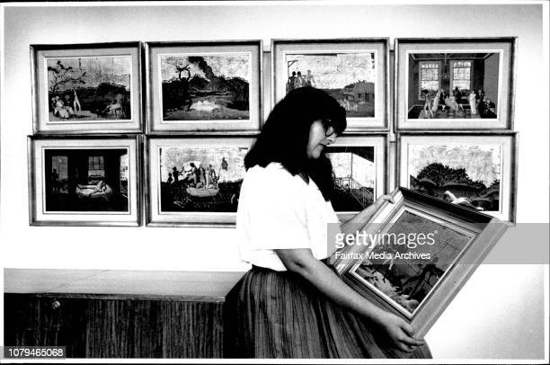 The nine Donald Friend paintings hanging in the general managers office at the Opera House Carolyn Abraham looks at the work November 01 1988