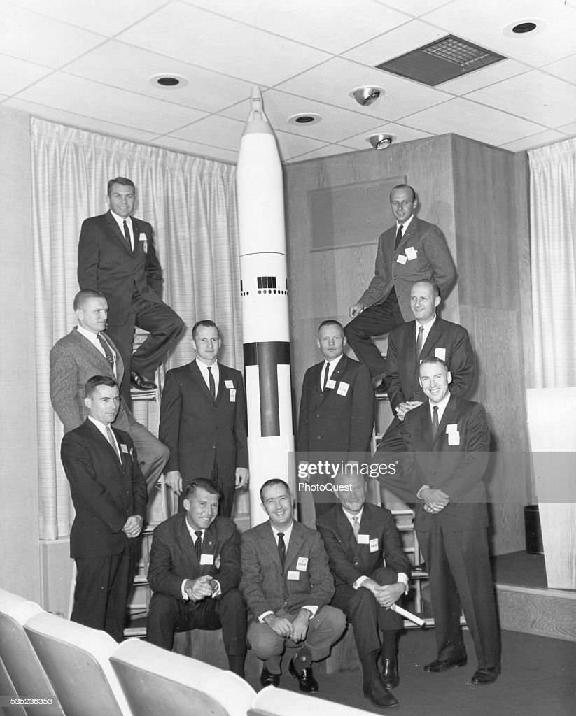 Astronauts : News Photo