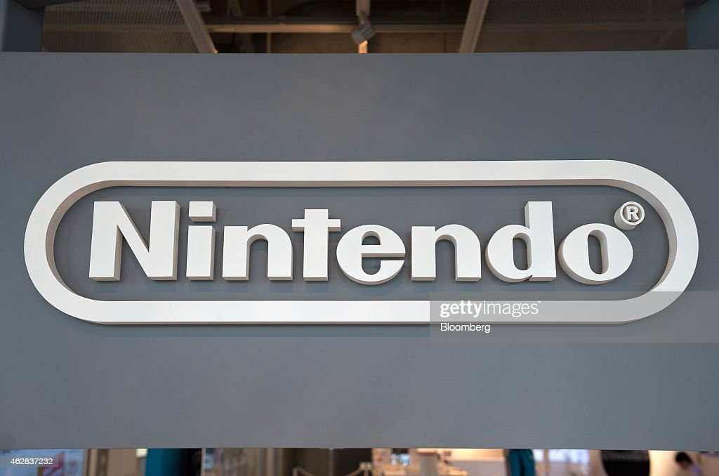 Product Displays Inside The Nintendo Game Front Showroom : News Photo