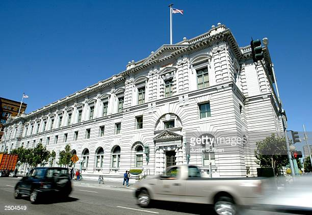 The Ninth Circuit Court of Appeals is seen September 17, 2003 in San Francisco, California. State officials are preparing to petition the the whole...