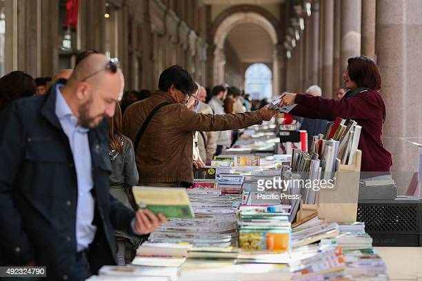 The ninth edition of the Arcade of Paper the longest open air 'library' book sale in the world an autumn event held in Torino There are ozens of...