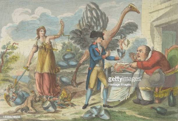 The Ninth of Thermidor, or the English Surprise, to Honest People of All Countries , fructidor l'an 3e, 1795. Artist Jean Baptiste Marie Louvion.