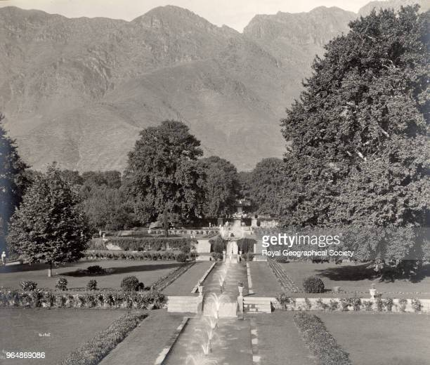 The Nishat Bagh in Srinagar The Nishat Bagh is the largest of the five gardens built by the Mughal Emperors in Srinagar known collectively as the...