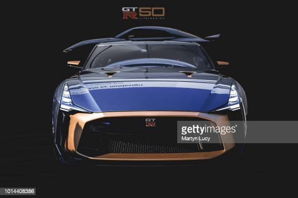 The Nissan GTR50 making its world debut at Goodwood Festival of Speed 2018 Nissan teamed up with design and engineering company Italdesign to produce...