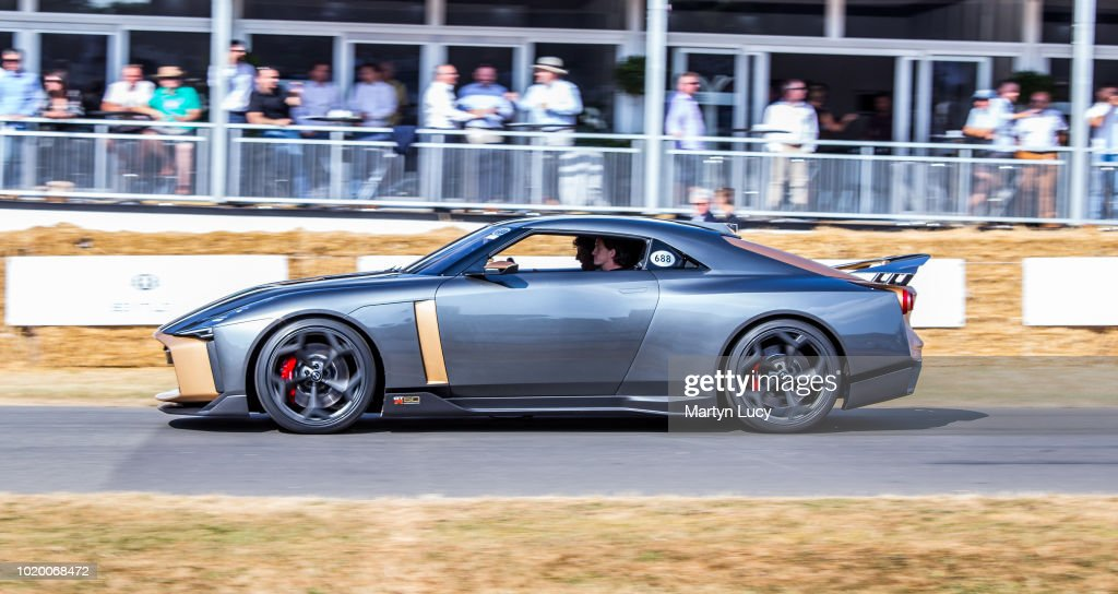 The Nissan Gtr 50 Making Its World Debut At Goodwood Festival Of