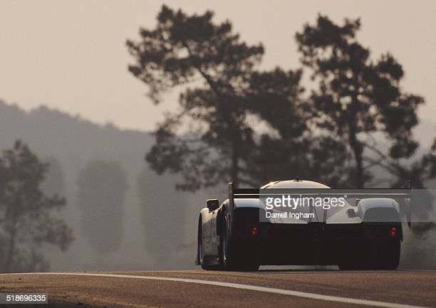 The Nissan Performance Technology Inc Nissan R90CK Nissan VRH35Z Turbo V8 driven by Geoff Brabham Chip Robinson and Derek Daly during the FIA World...