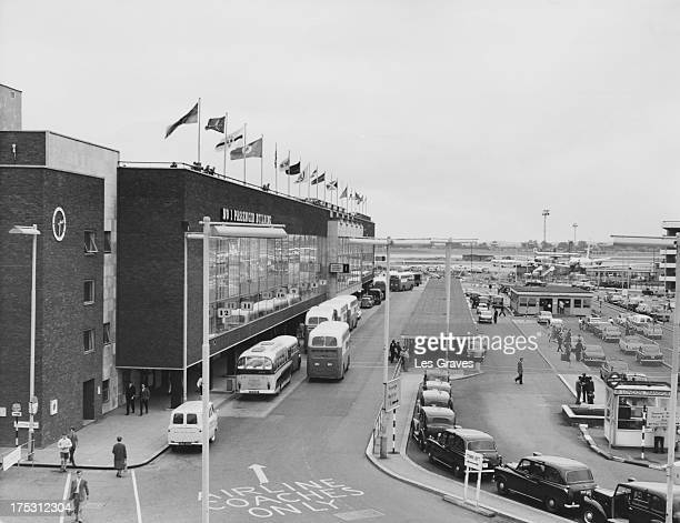 The No 1 Passenger Building at London Airport later Heathrow Airport London August 1963