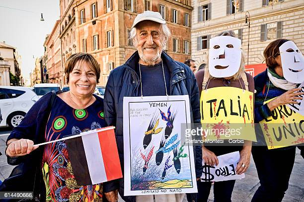 The No War Network demonstrated near the Italian Ministry of Defense against the export of Italian arms to Saudi Arabia and by the end of the...