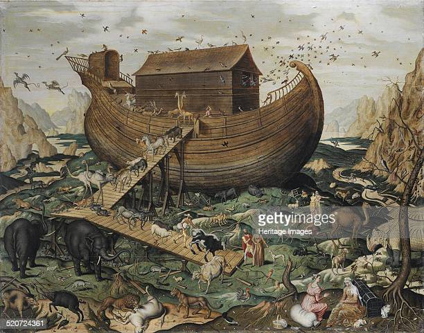 The Noah's Ark on Mount Ararat Private Collection