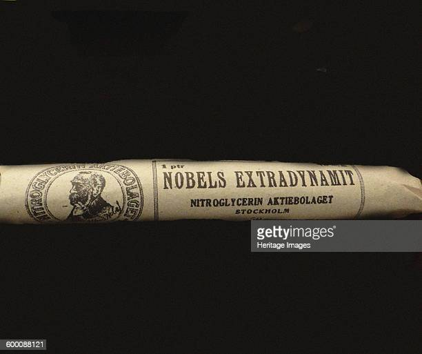 The Nobel's Extradynamit Found in the collection of Nobelmuseet Stockholm Artist Historic Object