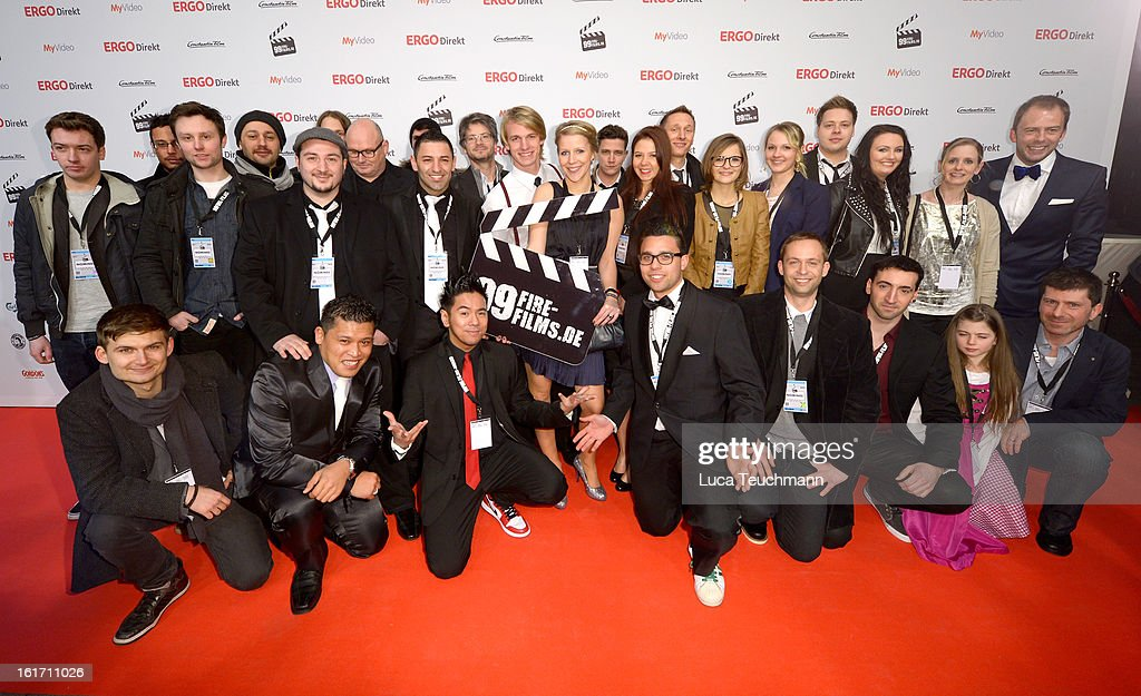 The Nominees attends the 5th '99Fire-Films-Award' - Red Carpet Arrivals at Admiralspalast on February 14, 2013 in Berlin, Germany.