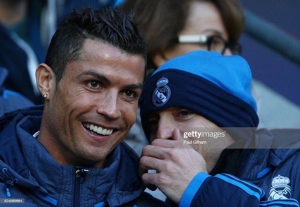Manchester City FC v Real Madrid - UEFA Champions League Semi Final: First Leg : News Photo