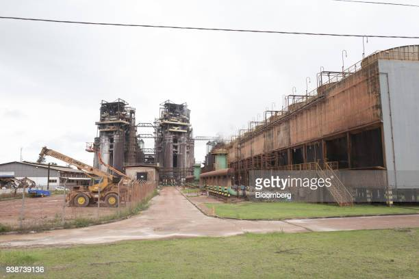 The Norsk Hydro ASA alumina refinery stands in Barcarena Para state Brazil on Wednesday Feb 28 2018 A Brazilian judge orderedNorsk Hydro ASAto pay...