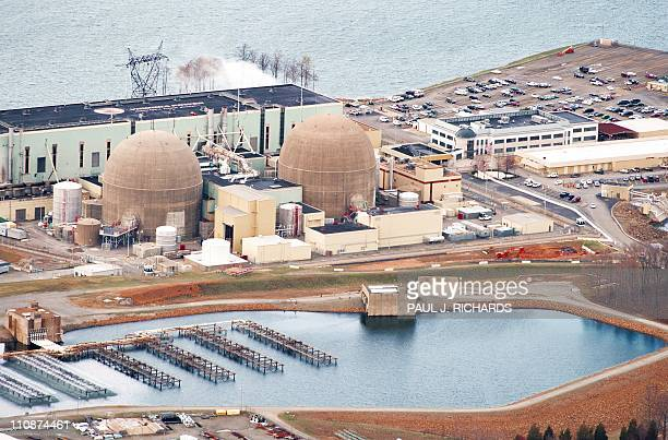 The North Anna Virgina #1 and nuclear power generation stations operated by Dominion Virginia Power are seen March 24 at Lake Anna Virginia in this...