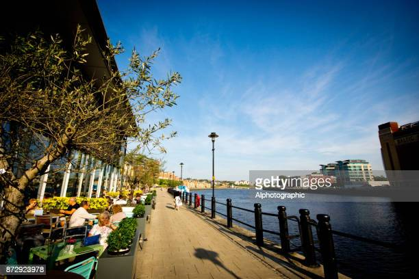 The north bank of the River Tyne