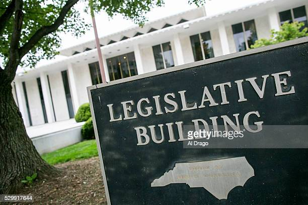 STATES MAY 9 The North Carolina state legislature building is seen in Raleigh NC on Monday May 9 2016 Gov Pat McCrory and his administration sued the...