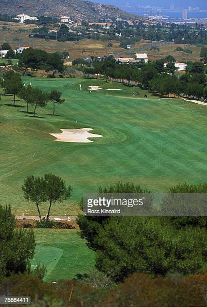 The North Course at La Manga Club, Murcia, Spain, June 2001.