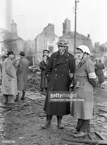 The North Strand the morning after the Geman bombing On the night of 31st May 1941 four highexplosive bombs were dropped by German aircraft on the...