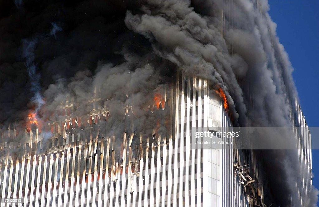 World Trade Center Terrorist Attack - Ground Zero : Nachrichtenfoto