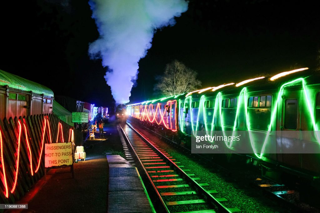 Preview Of The North Yorkshire Moors Railway Northern Lights Express : News Photo