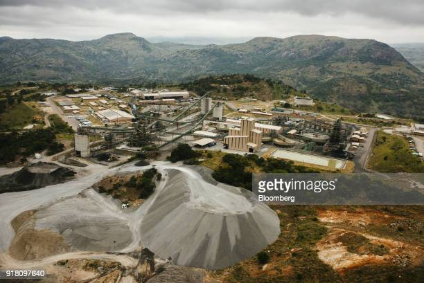The Northam Platinum Ltd Booysendal platinum mine stands outside the town of Lydenburg in Mpumalanga South Africa on Tuesday Jan 23 2018 Booysendal...