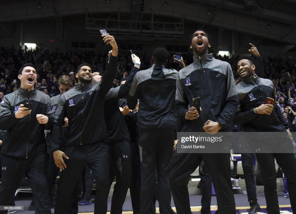 Northwestern NCAA Tournament Selection Watch Party : News Photo
