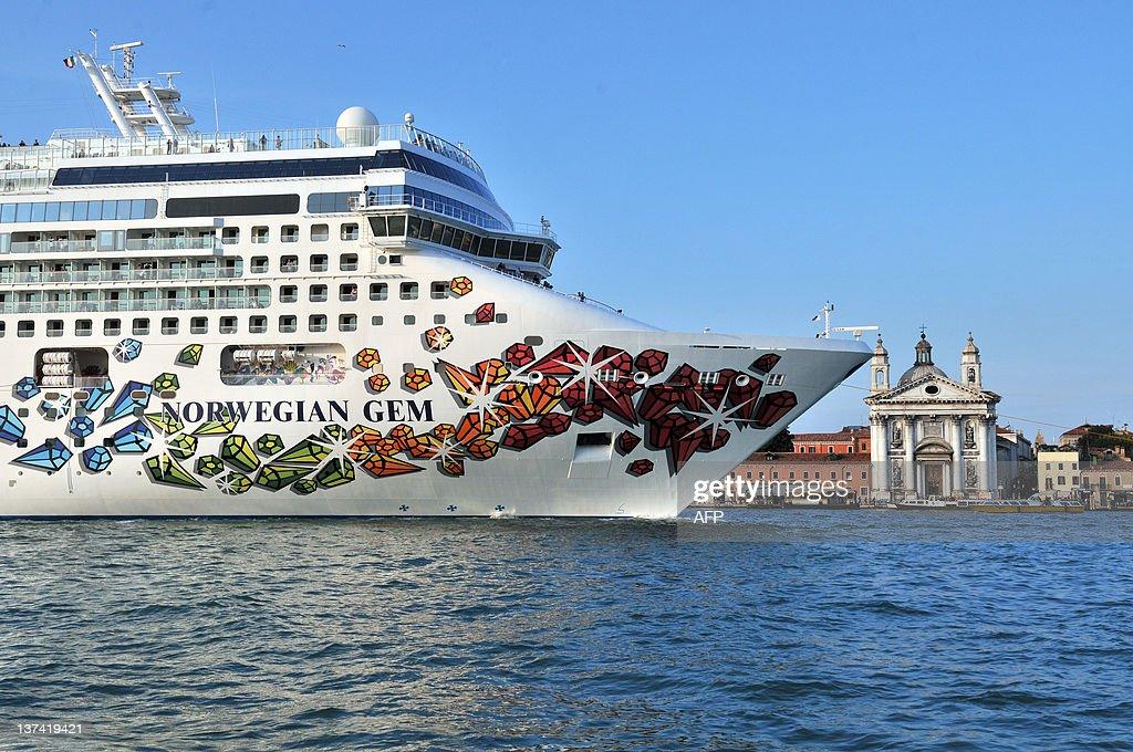The Norwegian Gem Cruise Liner Ship Pass Pictures Getty Images - Norwegian gem cruise ship