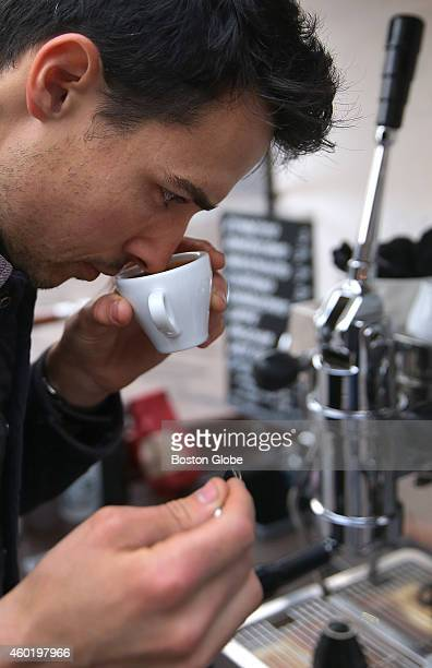 The nose test is everything for setting up his beverages in the early morning for Alessandro Bellino, who since 2012 has owned and operated the...