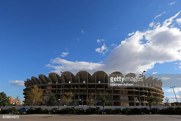 The Nou Mestalla the new stadium for Valencia CF The basic concrete structure of the stadium was built between August 2007 and February 2009 but work...