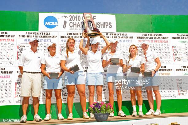 The Nova Southeastern University Women's Golf team placed first with a team score of 1180 during the Division II Women's Golf Championship held at...