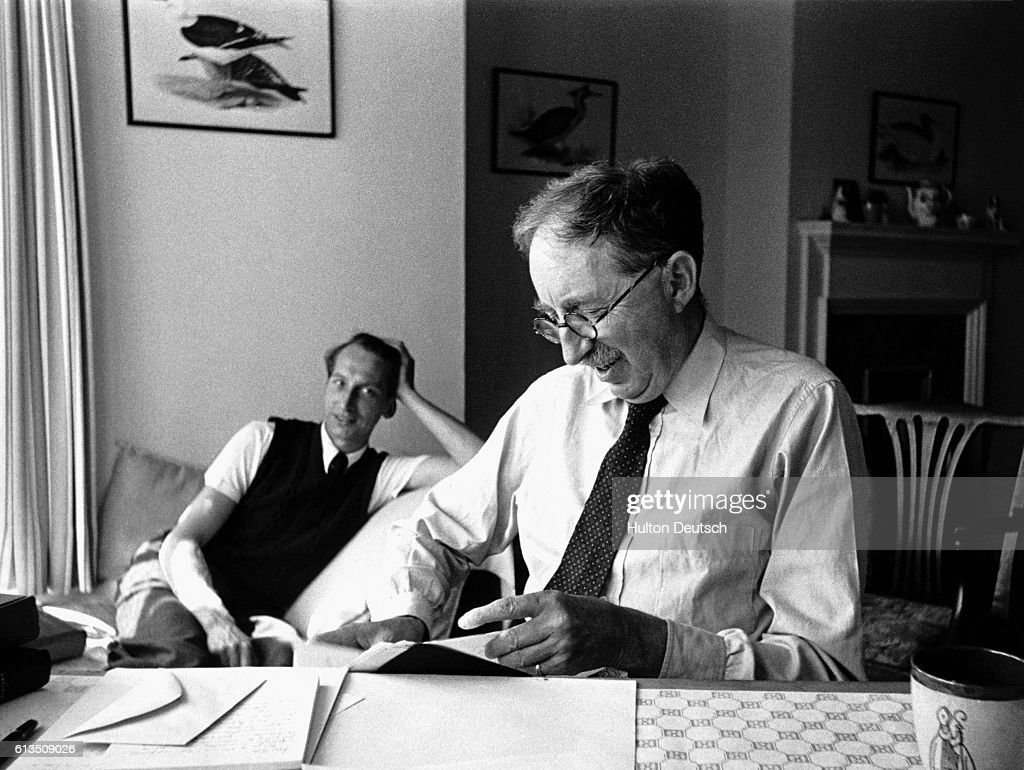 The Novelist Em Forster With Eric Crozier Crozier Founded