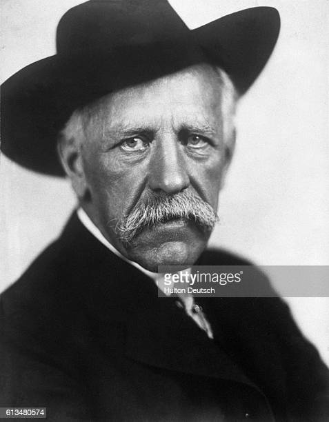 The Noweigian explorer Friotjof Nansen