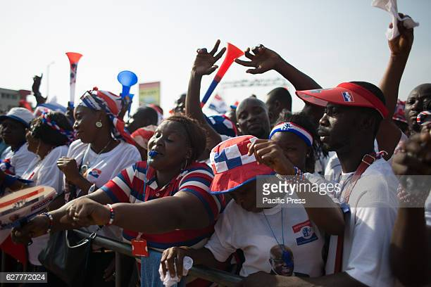The NPP hold a rally for thousands of Ghanains three days ahead of the Parliamentary and Presidential election