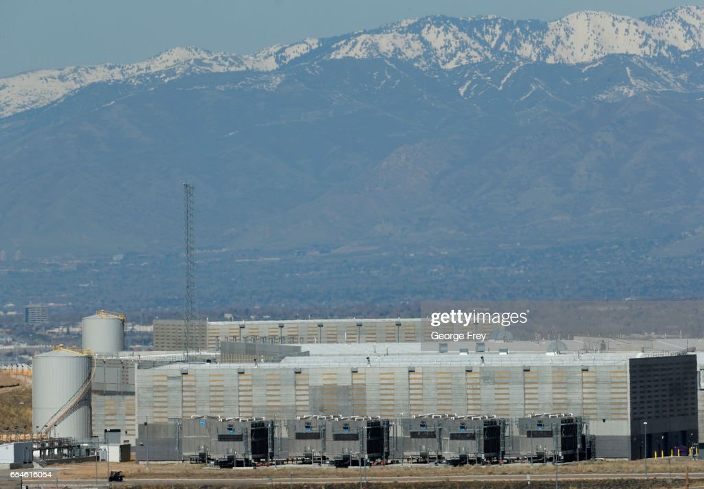 NSA Spy  Data Collection Center in Utah : News Photo