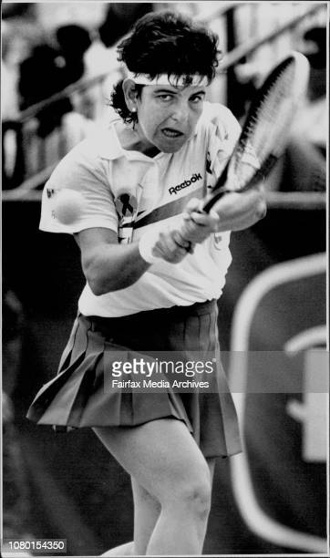The NSW Peters openArantxa Sanchez Vicario womens No 2 seed defeating Leila Meskhi January 12 1992
