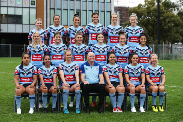 AUS: NSW Women's State of Origin Team Photo Session